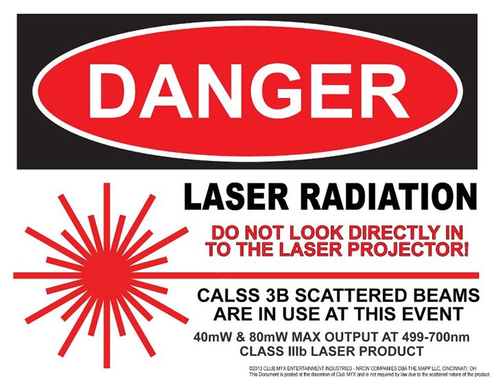Laser Specifications